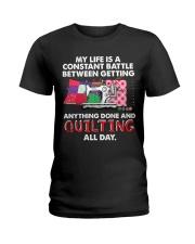 Quilting Ladies T-Shirt thumbnail