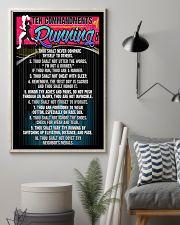 RUNNING COMMANDMENTS - PREMIUM 11x17 Poster lifestyle-poster-1