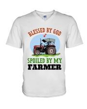 FARMER'S WIFE V-Neck T-Shirt thumbnail