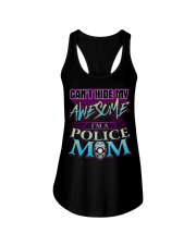 AWESOME POLICE MOM Ladies Flowy Tank thumbnail