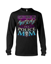 AWESOME POLICE MOM Long Sleeve Tee thumbnail
