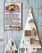 TRUCKER'S WIFE - PREMIUM 11x17 Poster lifestyle-holiday-poster-2