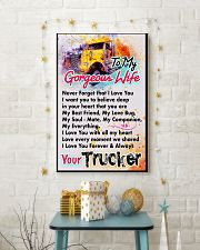 TRUCKER'S WIFE - PREMIUM 11x17 Poster lifestyle-holiday-poster-3