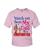 Firefighter's Daughter Youth T-Shirt front