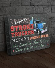Trucker's Family- Premium 14x11 Gallery Wrapped Canvas Prints aos-canvas-pgw-14x11-lifestyle-front-11