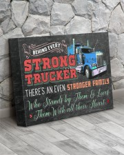 Trucker's Family- Premium 14x11 Gallery Wrapped Canvas Prints aos-canvas-pgw-14x11-lifestyle-front-13