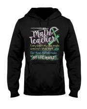 MATH TEACHER - PAST BUYERS EXCLUSIVE Hooded Sweatshirt thumbnail