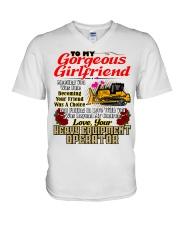 HEO's Girlfriend V-Neck T-Shirt thumbnail