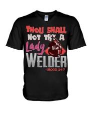 LADY WELDER V-Neck T-Shirt thumbnail