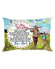 GIFT FOR A FARMER'S DAUGHTER - PREMIUM Rectangular Pillowcase back