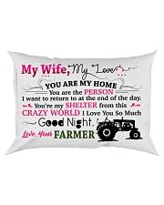 GIFT FOR A FARMER'S WIFE - PREMIUM Rectangular Pillowcase front