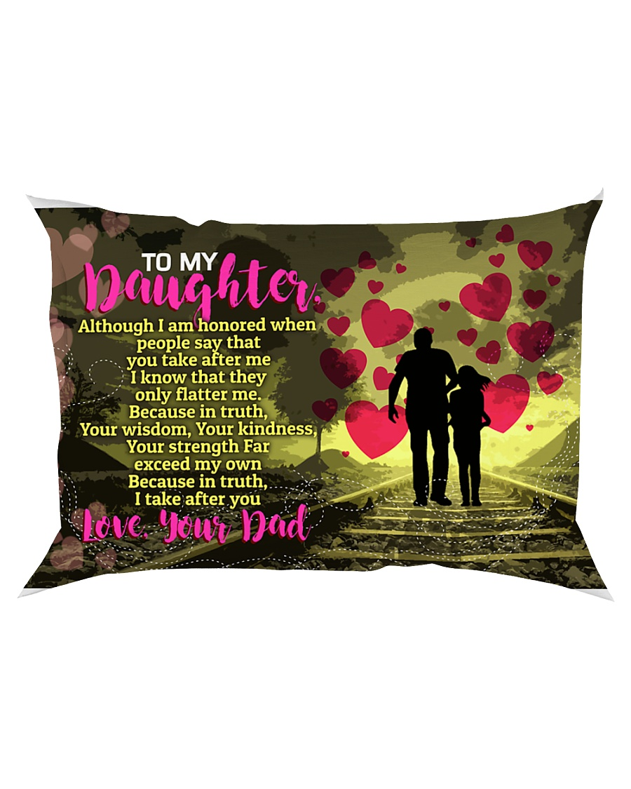 GIFT FOR YOUR DAUGHTER - PREMIUM Rectangular Pillowcase