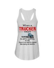 Trucker Ladies Flowy Tank tile