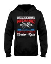 Old Mechanic Hooded Sweatshirt front
