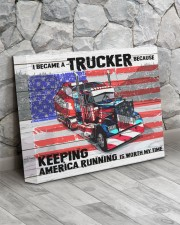 Trucker - Premium 14x11 Gallery Wrapped Canvas Prints aos-canvas-pgw-14x11-lifestyle-front-13