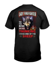 Lady Firefighter - I'm the Wolf Classic T-Shirt thumbnail