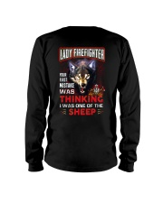 Lady Firefighter - I'm the Wolf Long Sleeve Tee thumbnail