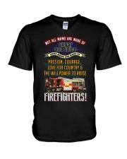 FIREFIGHTER'S MOM V-Neck T-Shirt thumbnail
