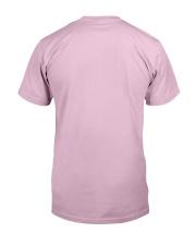 Firefighter's Girlfriend Classic T-Shirt back