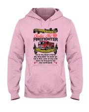 Firefighter's Girlfriend Hooded Sweatshirt tile