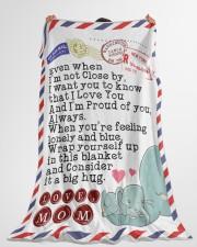 "Mom Premium Large Fleece Blanket - 60"" x 80"" aos-coral-fleece-blanket-60x80-lifestyle-front-10"