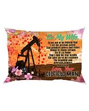 GIFT FOR A OILFIELD MAN'S WIFE - PREMIUM Rectangular Pillowcase front