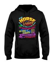 HORSE RIDING MOM Hooded Sweatshirt tile