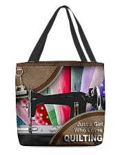 QUILTING LADY All-over Tote front