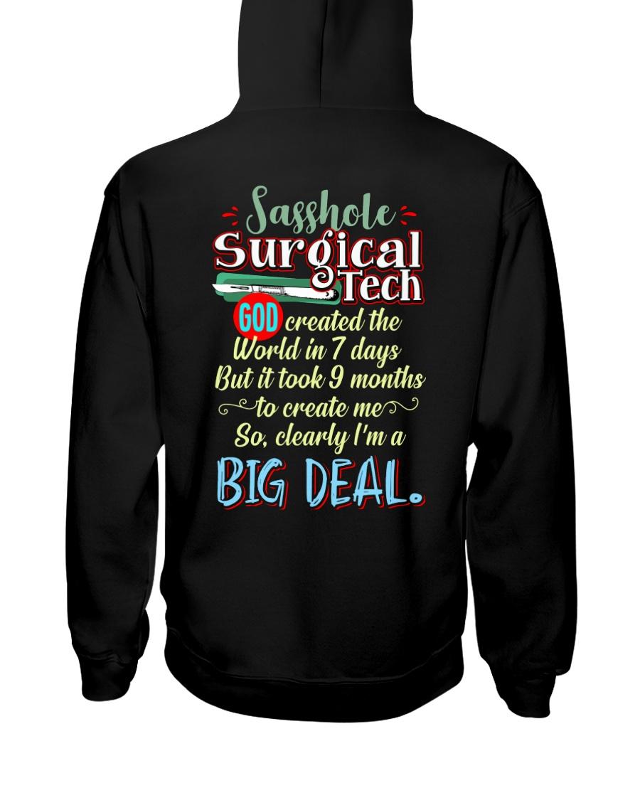 Sasshole Surgical Tech Hooded Sweatshirt