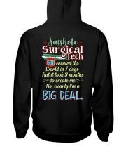 Sasshole Surgical Tech Hooded Sweatshirt back