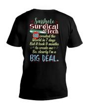 Sasshole Surgical Tech V-Neck T-Shirt thumbnail
