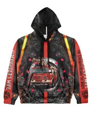 Firefighter's Wife Women's All Over Print Hoodie front