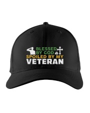 VETERAN'S WIFE Embroidered Hat front