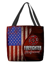 Firefighter's Girlfriend All-over Tote back