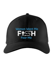 FISHING Embroidered Hat front