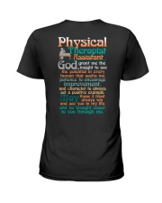A PHYSICAL THERAPIST ASSISTANT'S PRAYER Ladies T-Shirt thumbnail