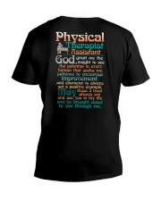A PHYSICAL THERAPIST ASSISTANT'S PRAYER V-Neck T-Shirt thumbnail