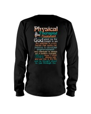 A PHYSICAL THERAPIST ASSISTANT'S PRAYER Long Sleeve Tee thumbnail