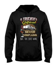 TRUCKER'S GIRLFRIEND Hooded Sweatshirt thumbnail