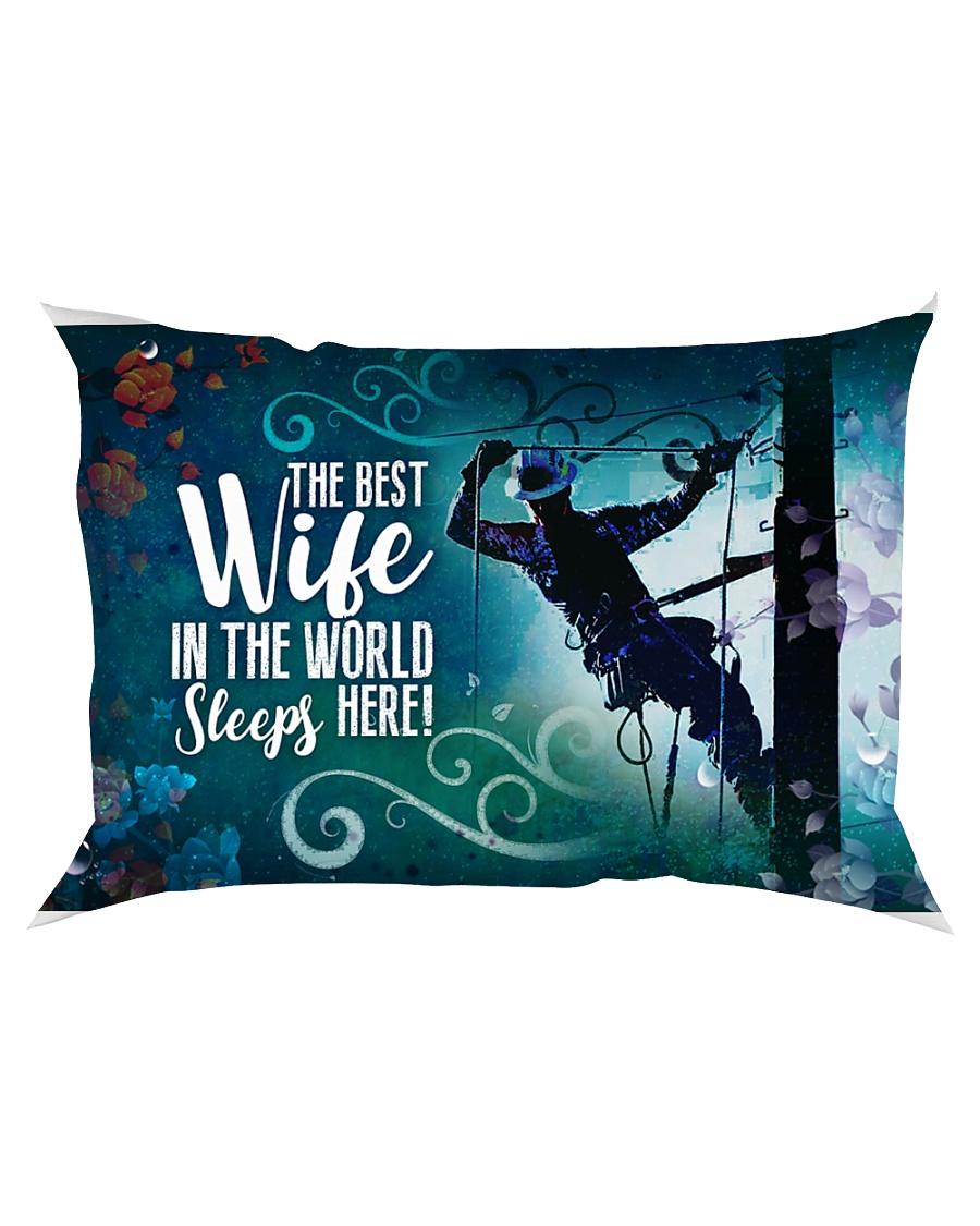 GIFT FOR A LINEMAN'S WIFE- PREMIUM Rectangular Pillowcase