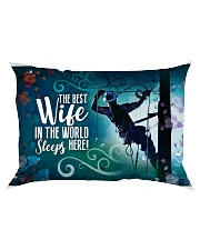GIFT FOR A LINEMAN'S WIFE- PREMIUM Rectangular Pillowcase front