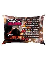 GIFT FOR A CARPENTER'S GIRLFRIEND - PREMIUM Rectangular Pillowcase front