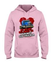Trucker's Wife Hooded Sweatshirt tile