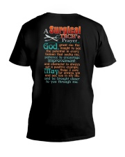 A SURGICAL TECH'S PRAYER V-Neck T-Shirt thumbnail