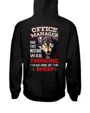 Office Manager - I'm the Wolf Hooded Sweatshirt tile