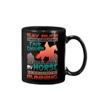 HORSE RIDING RUNNING FAIR Mug thumbnail