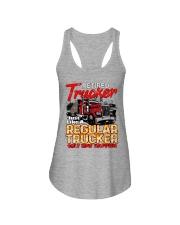 Retired Trucker Ladies Flowy Tank tile