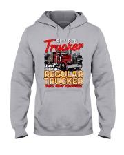 Retired Trucker Hooded Sweatshirt front