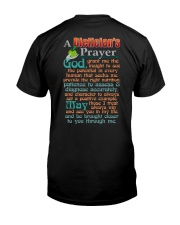 A DIETICIAN'S PRAYER Classic T-Shirt back
