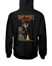 TRUCKER'S GIRLFRIEND - I'M THE WOLF   Hooded Sweatshirt back